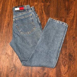 High waisted vintage Tommy Hilfiger mom jeans